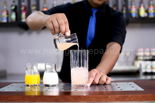 Pha chế mocktail Non Acapulco