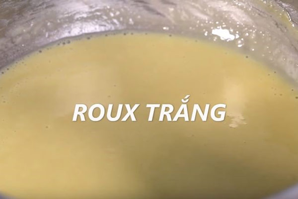 Roux trắng